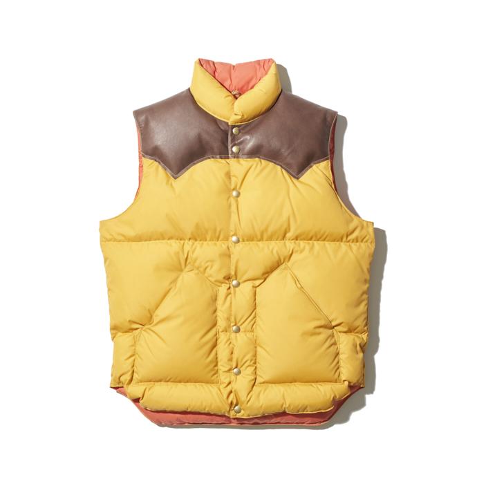 【20AW Heritage】Down Vest ¥ 43,000 + TAX(ベージュ)